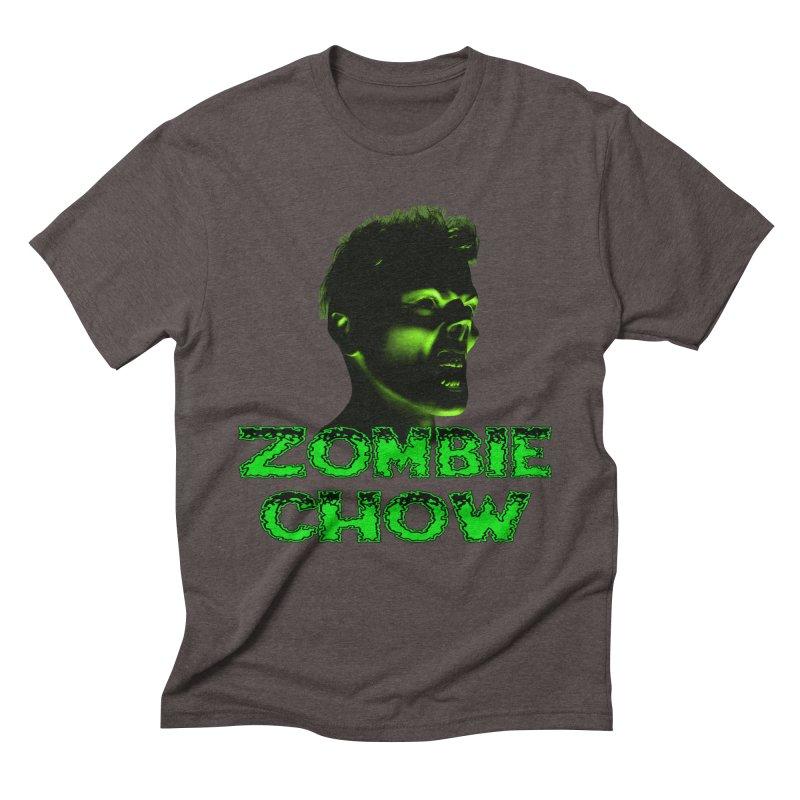 Zombie Chow Men's Triblend T-shirt by Magickal Vision: The Art of Jolie E. Bonnette