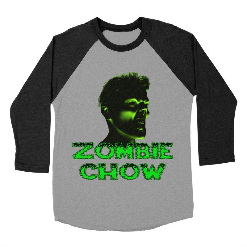 Zombie Chow Women's Baseball Triblend T-Shirt by Magickal Vision: The Art of Jolie E. Bonnette