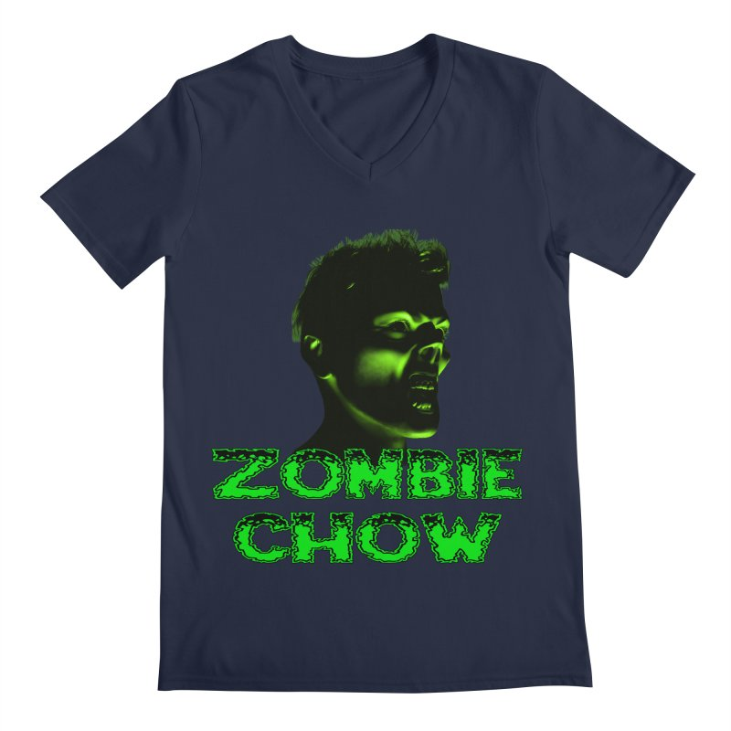 Zombie Chow Men's V-Neck by Magickal Vision: The Art of Jolie E. Bonnette
