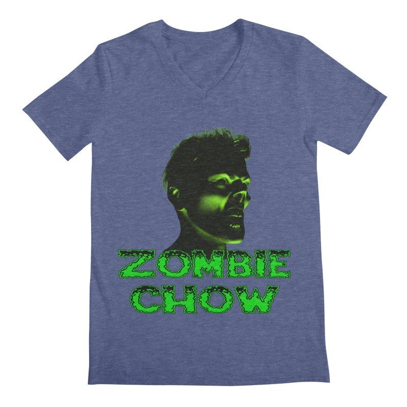 Zombie Chow Men's V-Neck by Magickal Vision: The Art of Jolie E. Bonnette