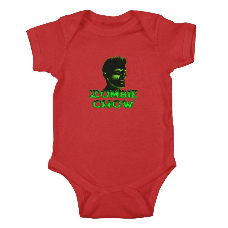 Zombie Chow Kids Baby Bodysuit by Magickal Vision: The Art of Jolie E. Bonnette