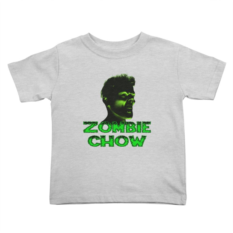 Zombie Chow Kids Toddler T-Shirt by Magickal Vision: The Art of Jolie E. Bonnette