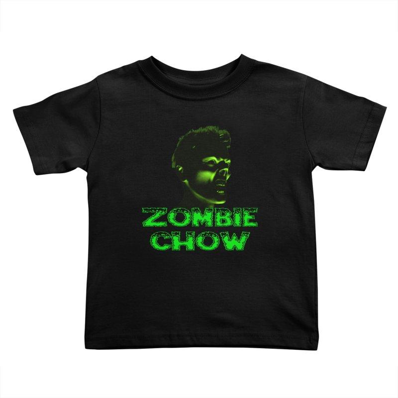 Zombie Chow Kids Toddler T-Shirt by Magickal Vision: The Art of Jolie E. Bonnette