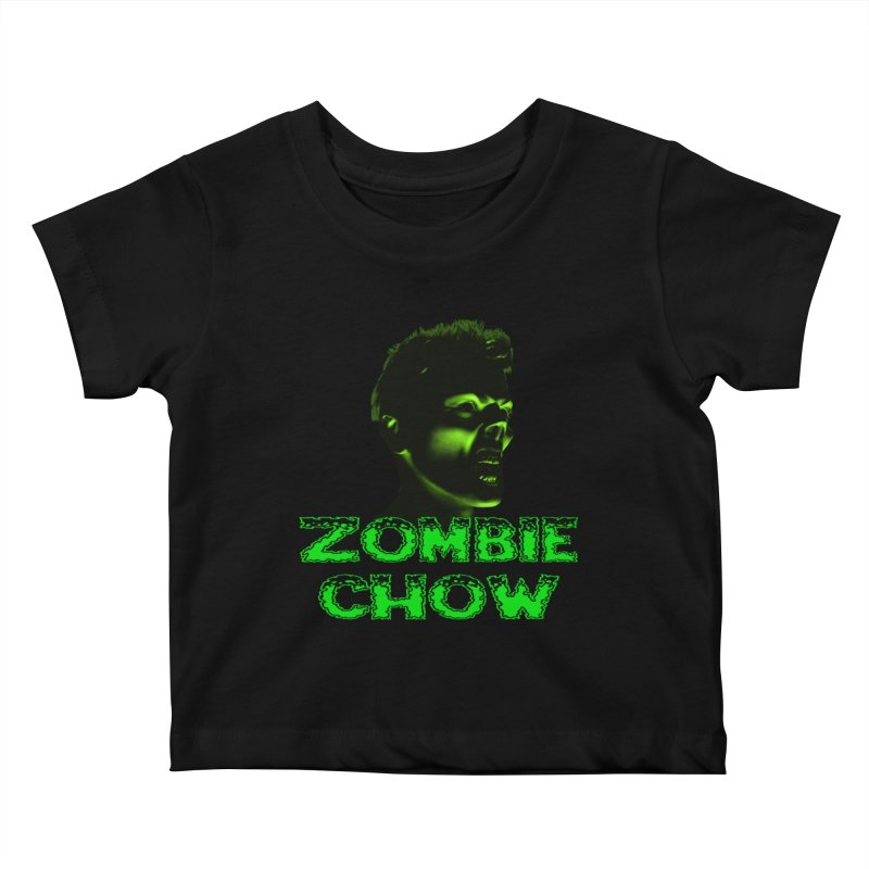 Zombie Chow Kids Baby T-Shirt by Magickal Vision: The Art of Jolie E. Bonnette