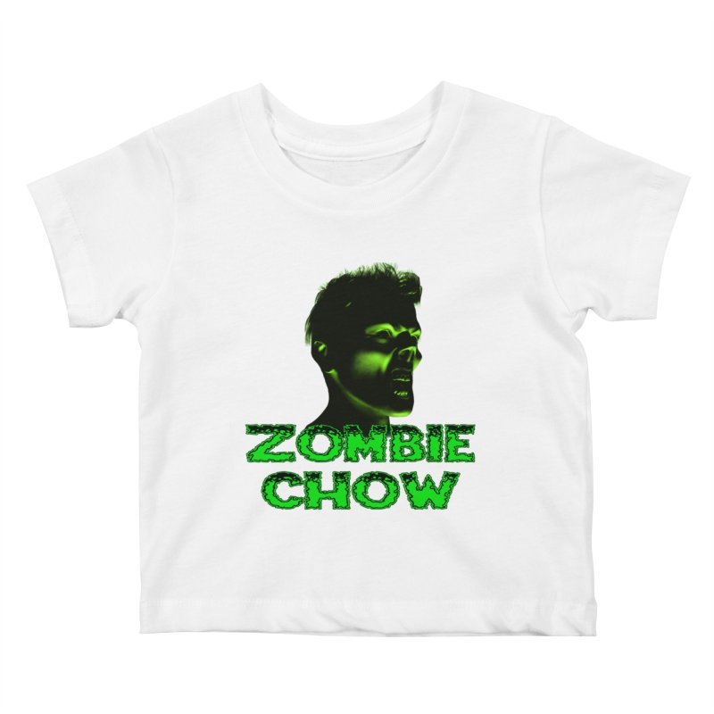 Zombie Chow Kids Baby T-Shirt by Magickal Vision: The Art of Jolie E. Bonnette