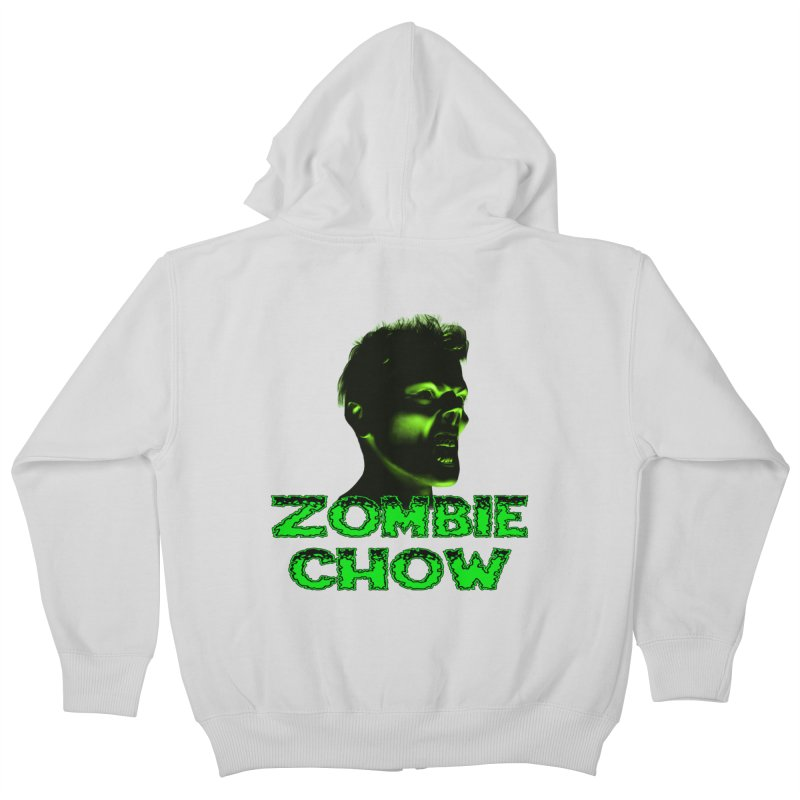 Zombie Chow Kids Zip-Up Hoody by Magickal Vision: The Art of Jolie E. Bonnette