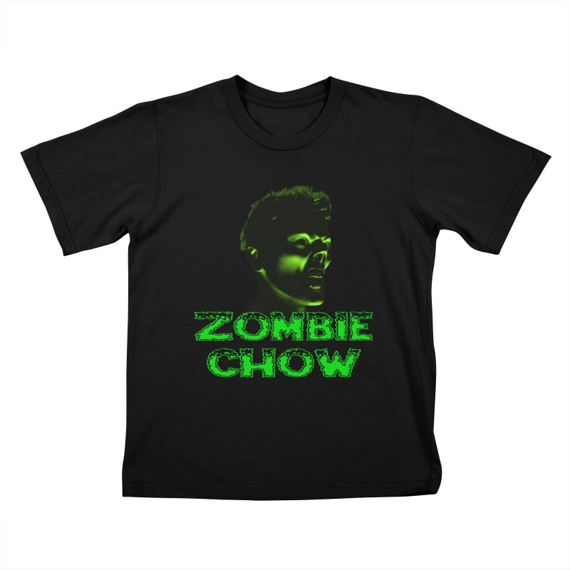 Zombie Chow Kids T-Shirt by Magickal Vision: The Art of Jolie E. Bonnette