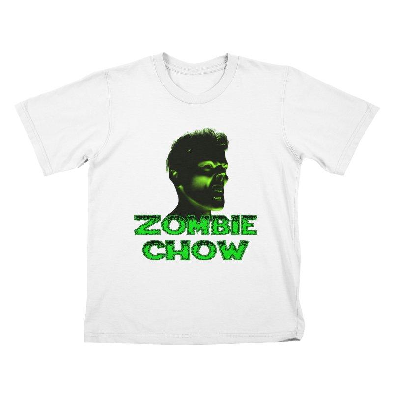 Zombie Chow Kids T-Shirt by Magickal Vision: The Art of Jolie E. Bonnette