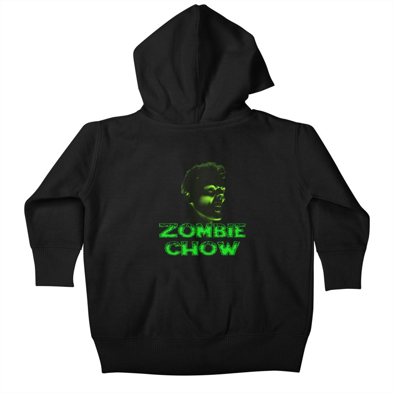 Zombie Chow Kids Baby Zip-Up Hoody by Magickal Vision: The Art of Jolie E. Bonnette