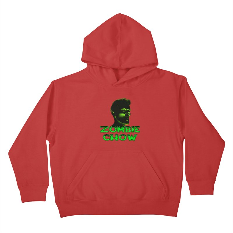 Zombie Chow Kids Pullover Hoody by Magickal Vision: The Art of Jolie E. Bonnette