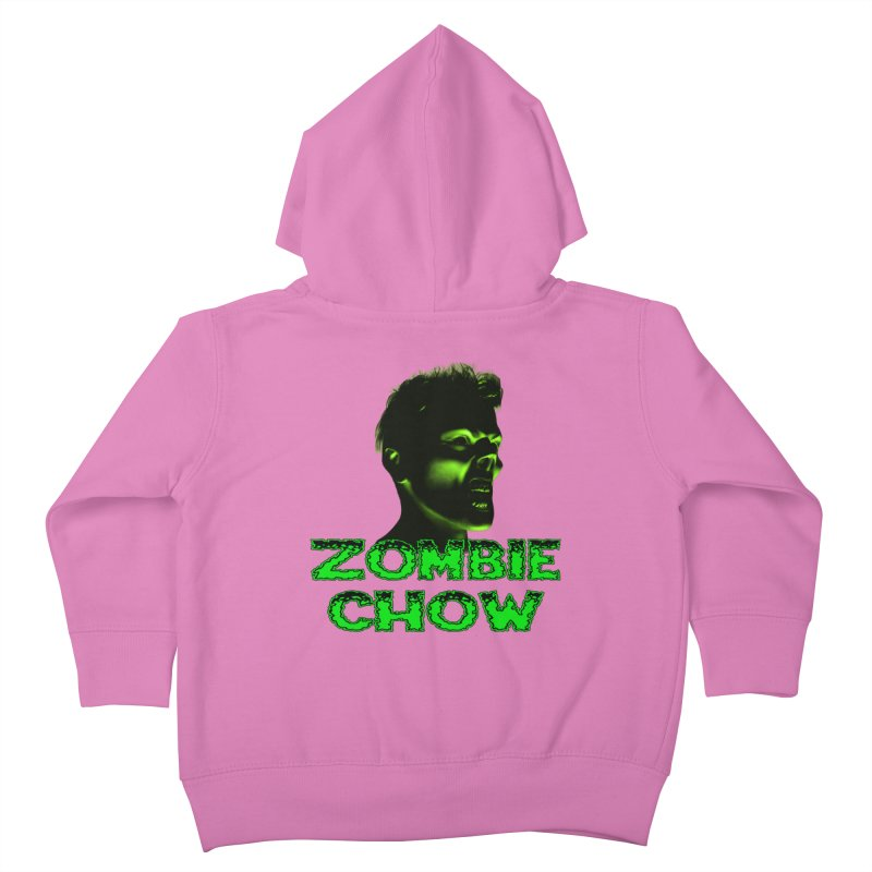 Zombie Chow Kids Toddler Zip-Up Hoody by Magickal Vision: The Art of Jolie E. Bonnette