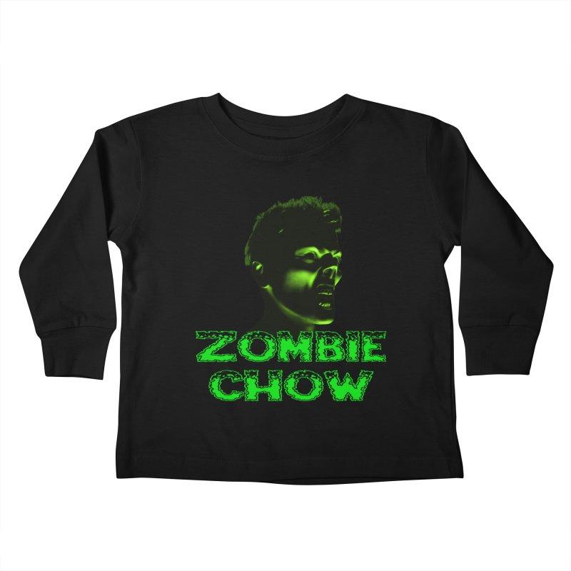 Zombie Chow Kids Toddler Longsleeve T-Shirt by Magickal Vision: The Art of Jolie E. Bonnette