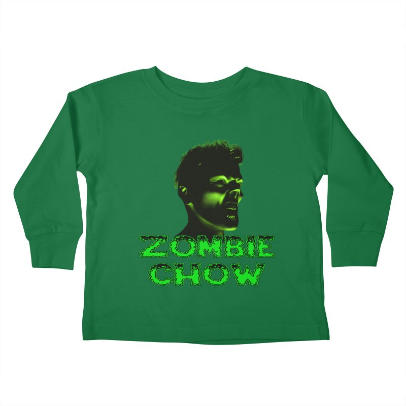 Zombie Chow Kids Toddler Longsleeve T-Shirt by Magickal Vision: The Art of Jolie E. Bonnette