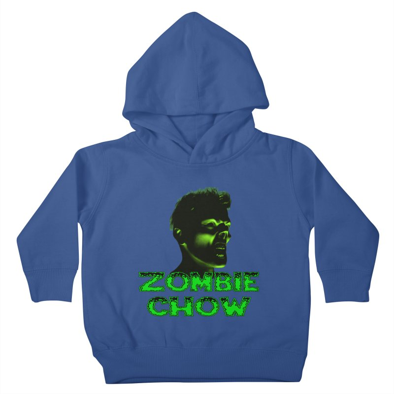 Zombie Chow Kids Toddler Pullover Hoody by Magickal Vision: The Art of Jolie E. Bonnette