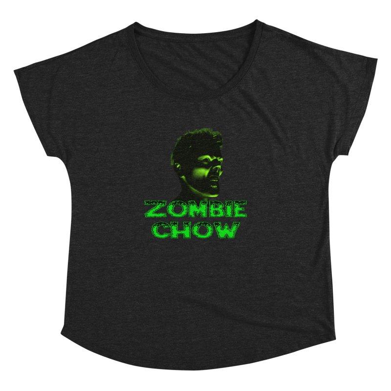 Zombie Chow Women's Dolman by Magickal Vision: The Art of Jolie E. Bonnette