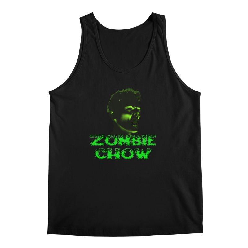 Zombie Chow Men's Tank by Magickal Vision: The Art of Jolie E. Bonnette