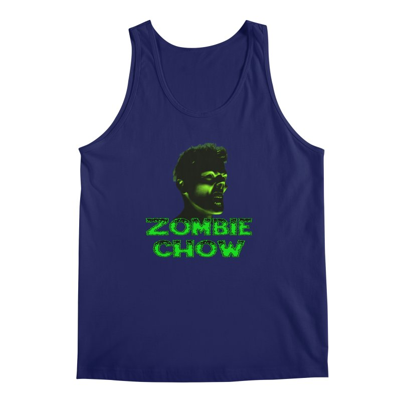 Zombie Chow Men's Regular Tank by Magickal Vision: The Art of Jolie E. Bonnette