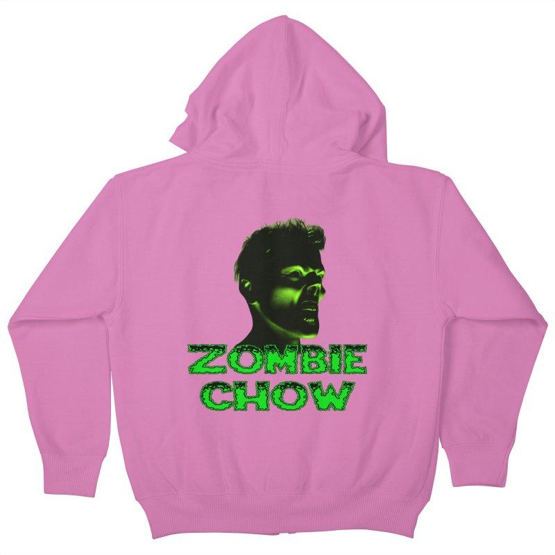 Zombie Chow Kids Zip-Up Hoody by Magickal Vision: The Art of Jolie E. Bonnette