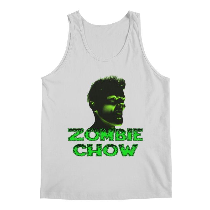 Zombie Chow Men's Regular Tank by Magickal Vision: The Art of Jolie E. Bonnette