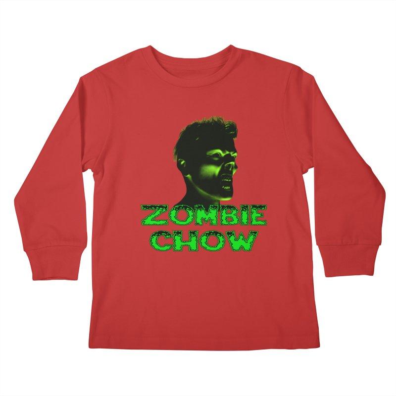 Zombie Chow Kids Longsleeve T-Shirt by Magickal Vision: The Art of Jolie E. Bonnette