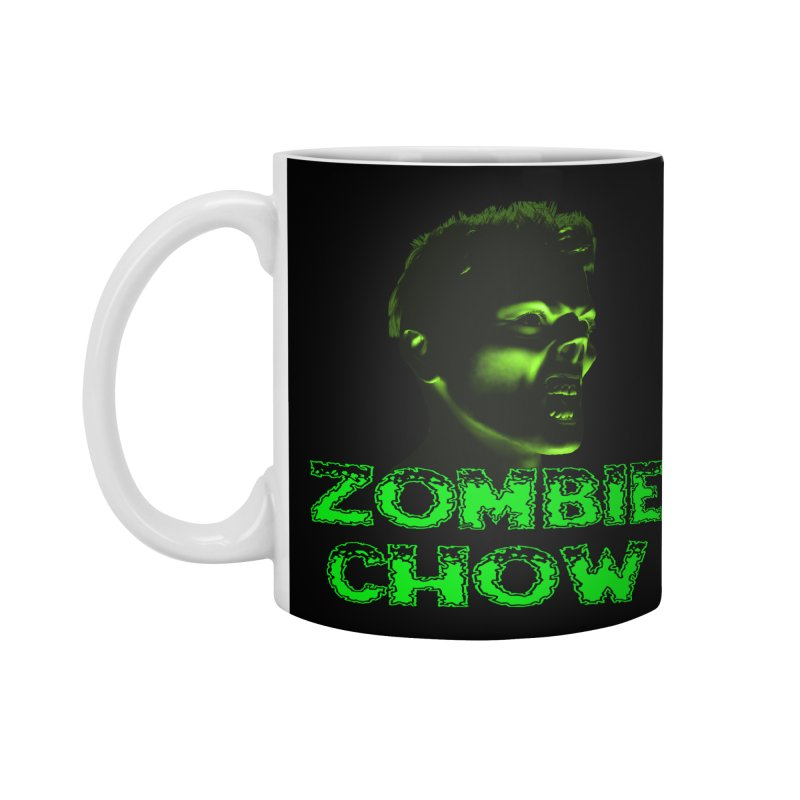 Zombie Chow Accessories Standard Mug by Magickal Vision: The Art of Jolie E. Bonnette