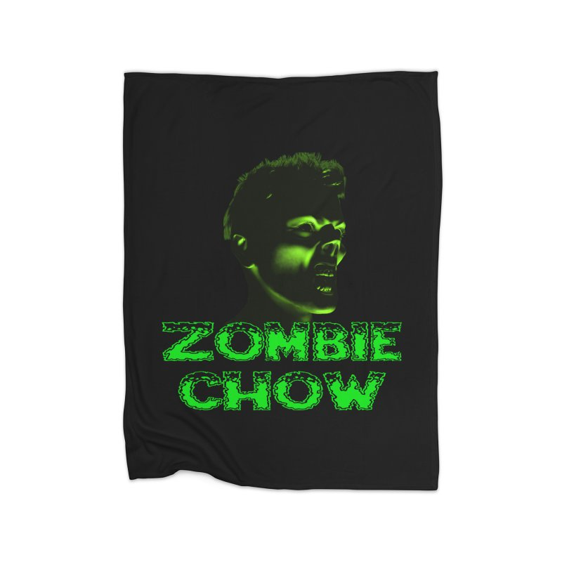Zombie Chow Home Blanket by Magickal Vision: The Art of Jolie E. Bonnette