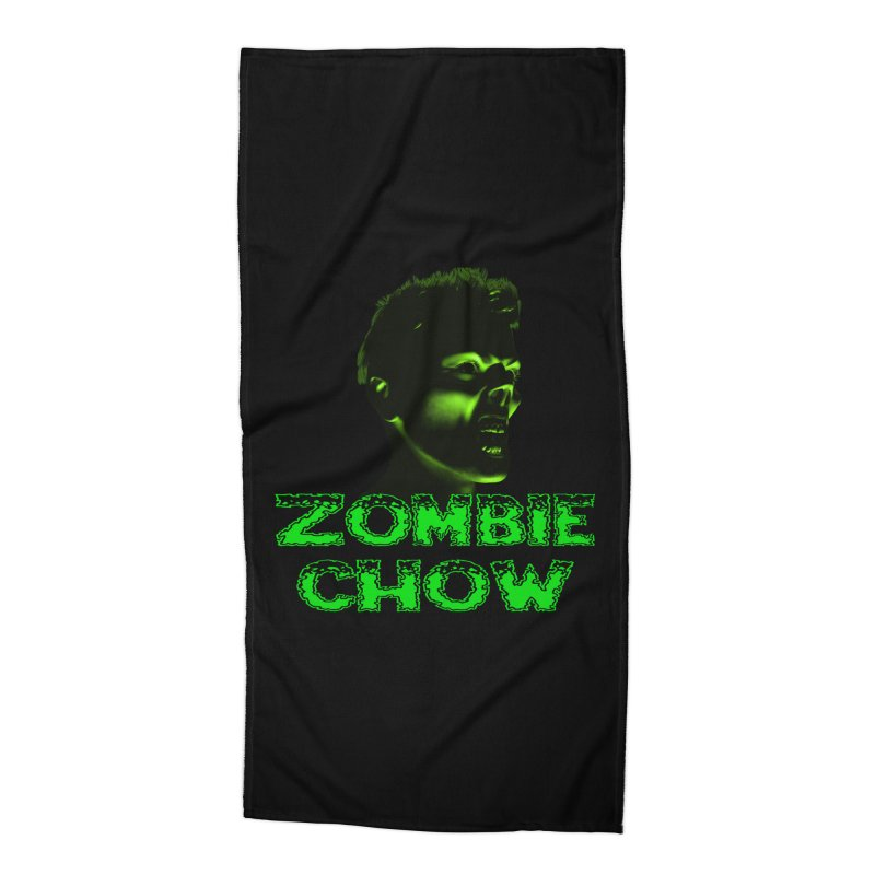 Zombie Chow Accessories Beach Towel by Magickal Vision: The Art of Jolie E. Bonnette