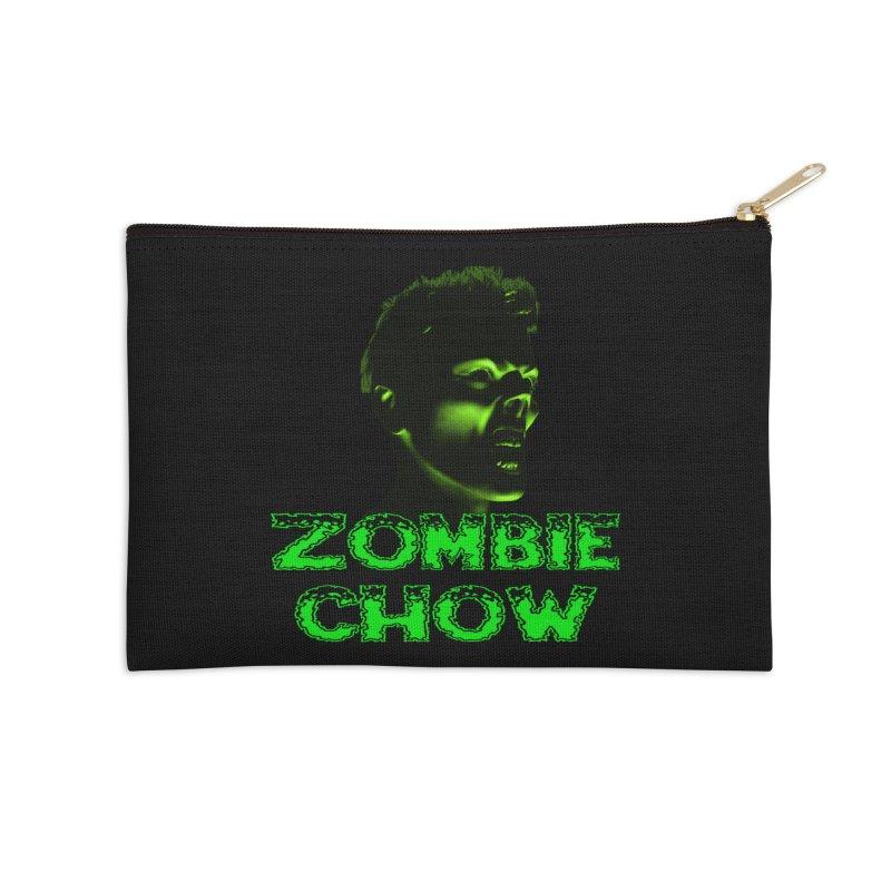 Zombie Chow Accessories Zip Pouch by Magickal Vision: The Art of Jolie E. Bonnette