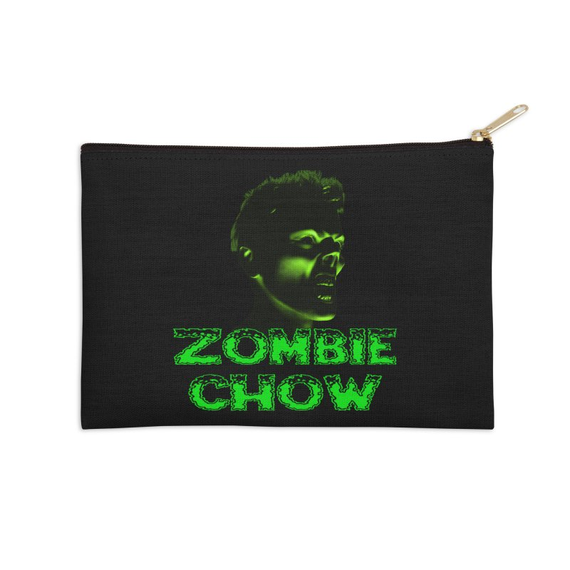 Zombie Chow Accessories Zip Pouch by Magickal Vision: The Art of Jolie E. Bonnette