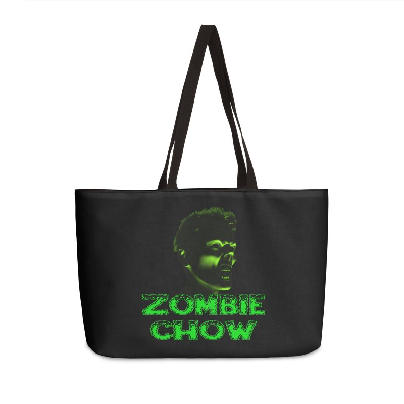 Zombie Chow Accessories Weekender Bag Bag by Magickal Vision: The Art of Jolie E. Bonnette