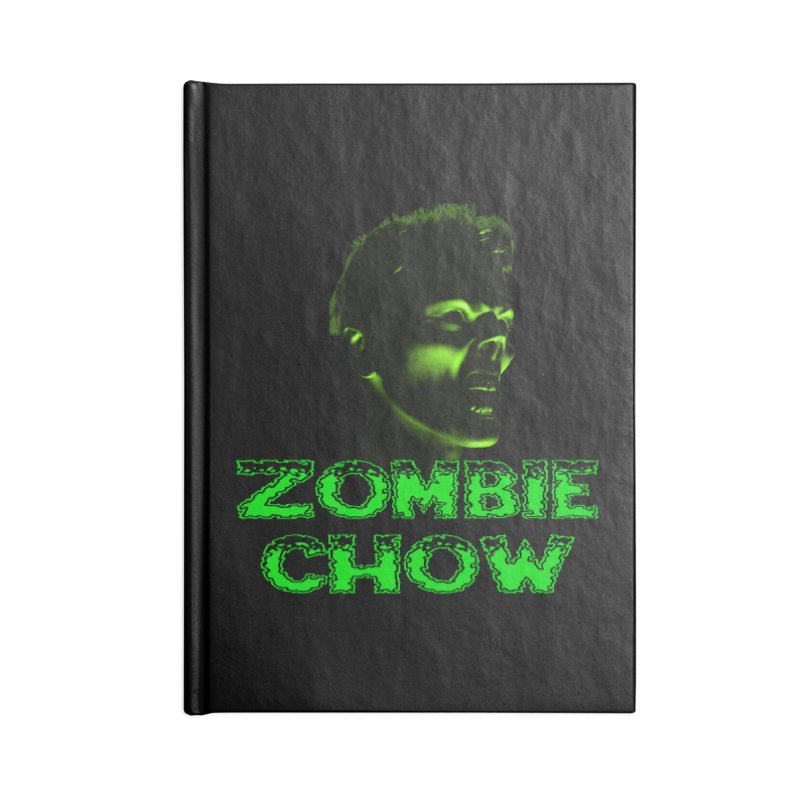 Zombie Chow Accessories Lined Journal Notebook by Magickal Vision: The Art of Jolie E. Bonnette