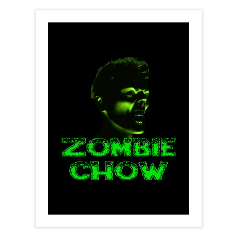 Zombie Chow Home Fine Art Print by Magickal Vision: The Art of Jolie E. Bonnette