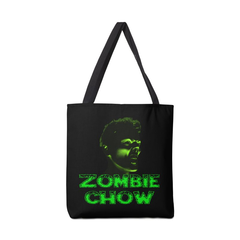 Zombie Chow Accessories Tote Bag Bag by Magickal Vision: The Art of Jolie E. Bonnette