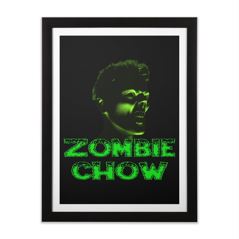 Zombie Chow Home Framed Fine Art Print by Magickal Vision: The Art of Jolie E. Bonnette