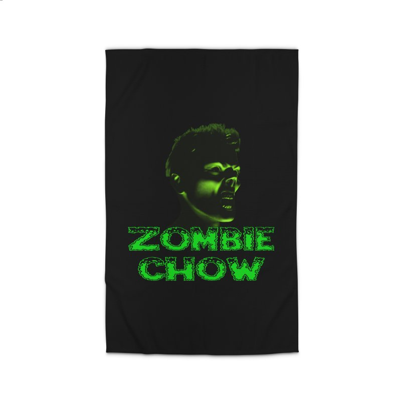 Zombie Chow Home Rug by Magickal Vision: The Art of Jolie E. Bonnette