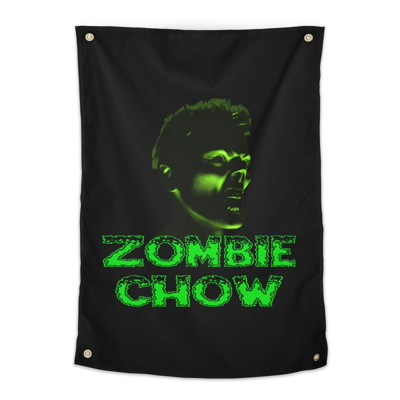 Zombie Chow Home Tapestry by Magickal Vision: The Art of Jolie E. Bonnette