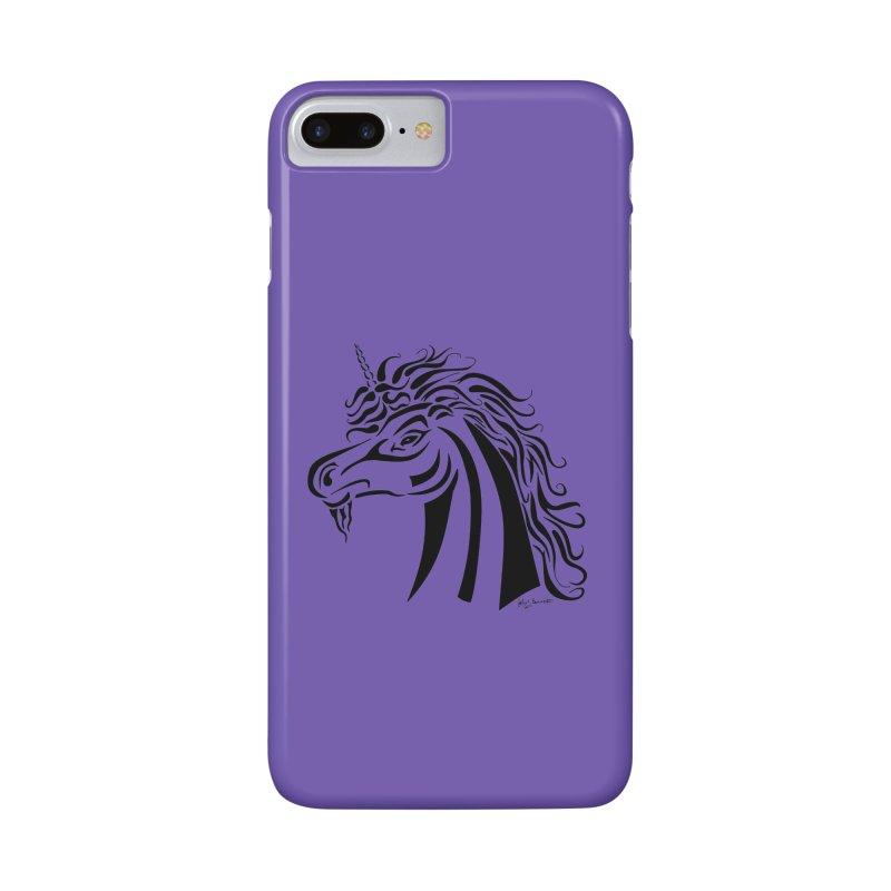 Unicorn Tribal Accessories Phone Case by Magickal Vision: The Art of Jolie E. Bonnette