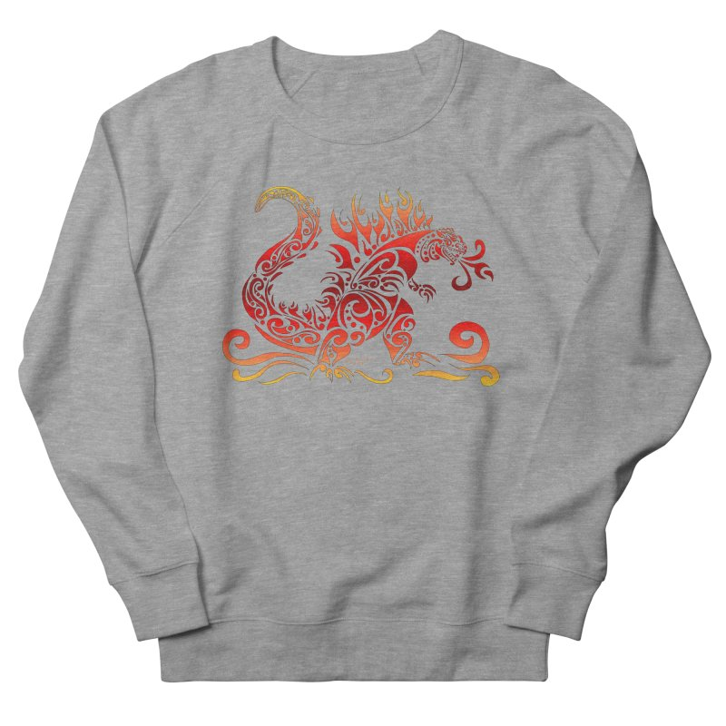 Trybe-Zilla Fire Women's Sweatshirt by Magickal Vision: The Art of Jolie E. Bonnette