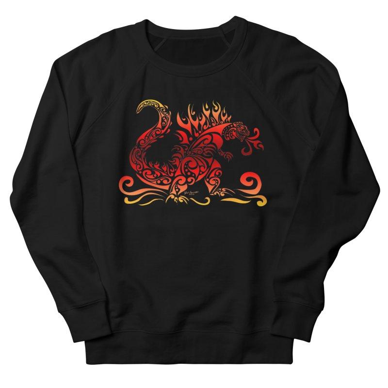 Trybe-Zilla Fire Women's Sweatshirt by Magickal Vision: The Art of Jolie E. Bonnette