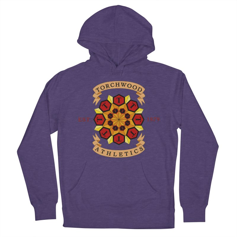 Torchwood Athletics Women's Pullover Hoody by Magickal Vision: The Art of Jolie E. Bonnette