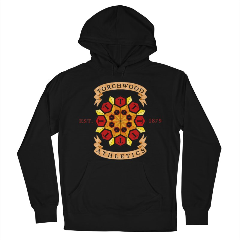 Torchwood Athletics Women's French Terry Pullover Hoody by Magickal Vision: The Art of Jolie E. Bonnette