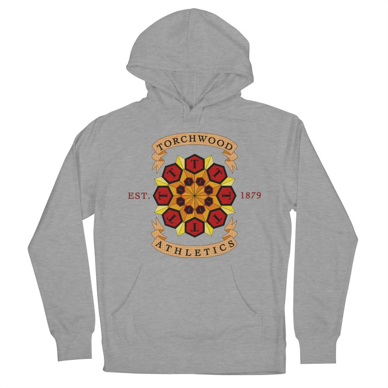 Torchwood Athletics Men's French Terry Pullover Hoody by Magickal Vision: The Art of Jolie E. Bonnette