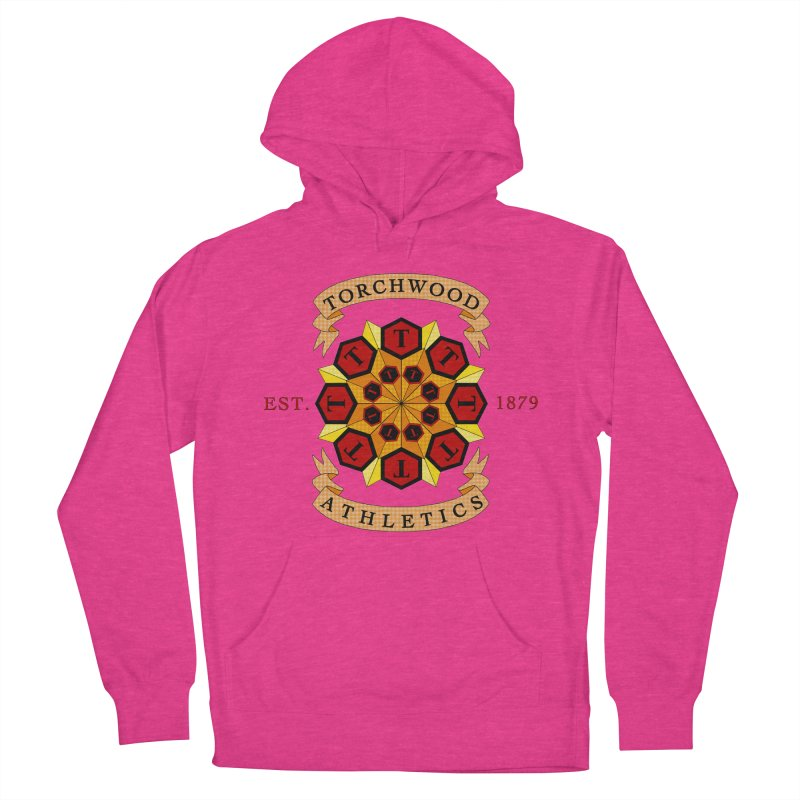 Torchwood Athletics Men's Pullover Hoody by Magickal Vision: The Art of Jolie E. Bonnette