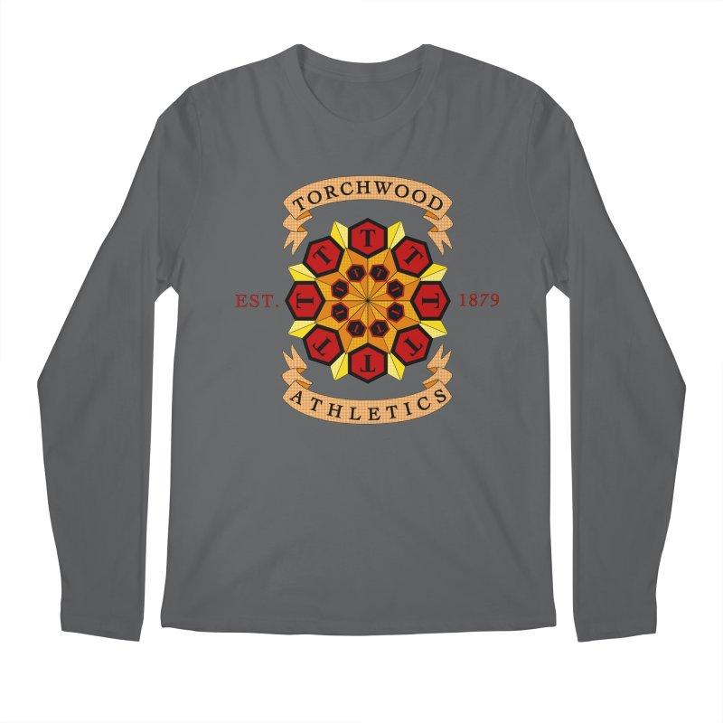 Torchwood Athletics Men's Longsleeve T-Shirt by Magickal Vision: The Art of Jolie E. Bonnette