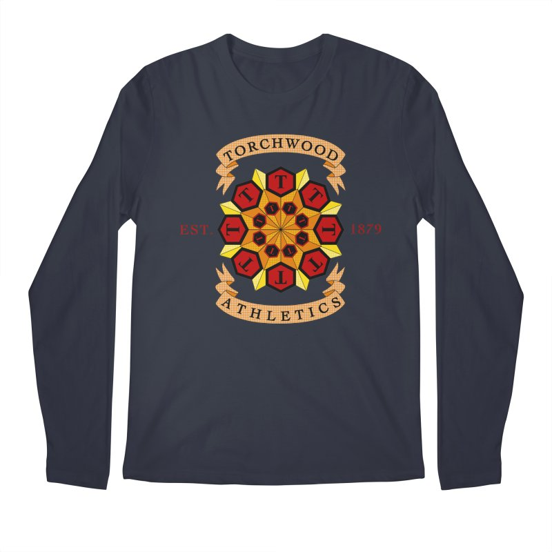 Torchwood Athletics Men's Regular Longsleeve T-Shirt by Magickal Vision: The Art of Jolie E. Bonnette