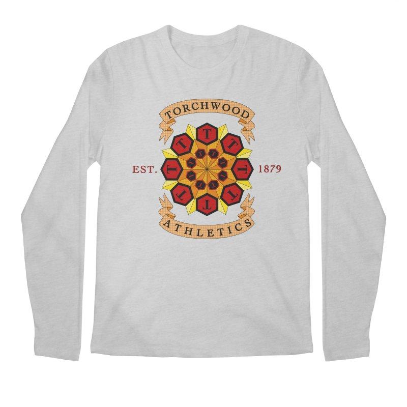 Torchwood Athletics Men's Regular Longsleeve T-Shirt by Magickal Vision: The Art of Jolie E. Bonnette