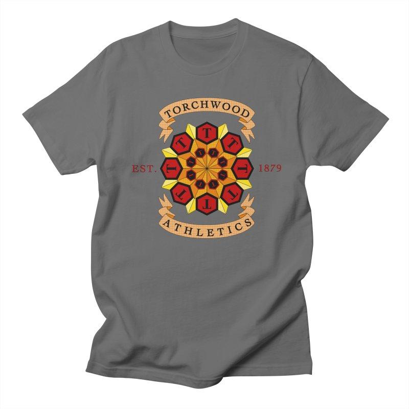 Torchwood Athletics Men's T-Shirt by Magickal Vision: The Art of Jolie E. Bonnette
