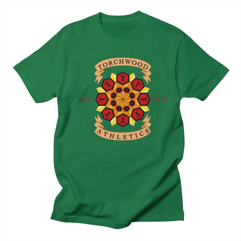 Torchwood Athletics Men's Regular T-Shirt by Magickal Vision: The Art of Jolie E. Bonnette