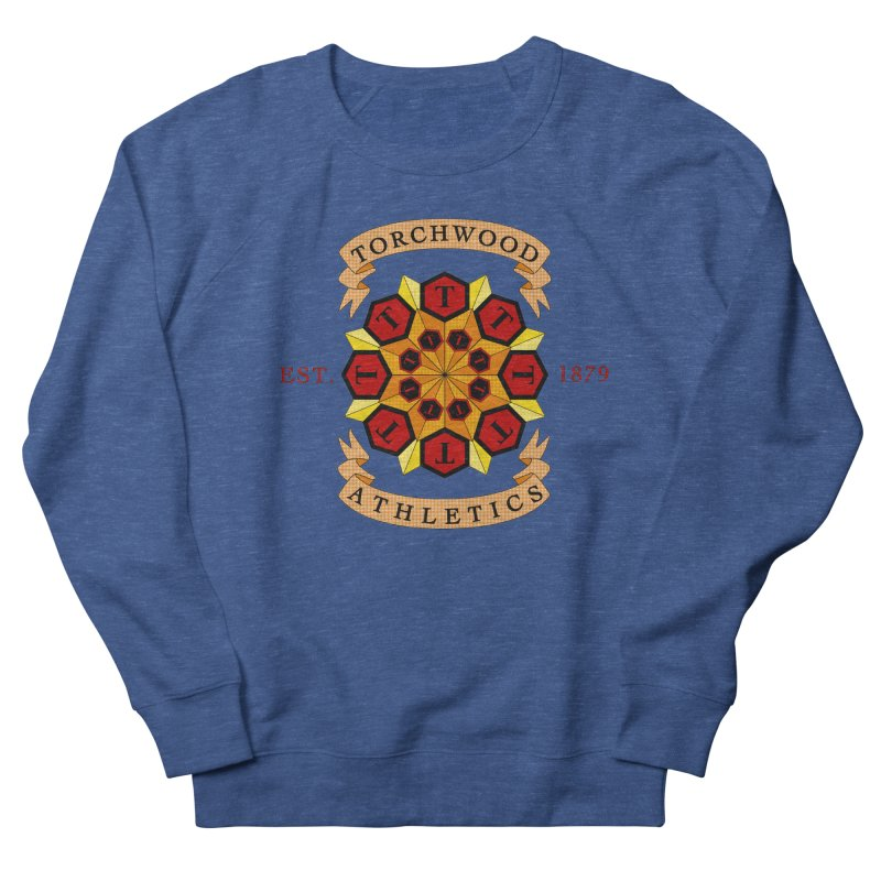 Torchwood Athletics Women's French Terry Sweatshirt by Magickal Vision: The Art of Jolie E. Bonnette