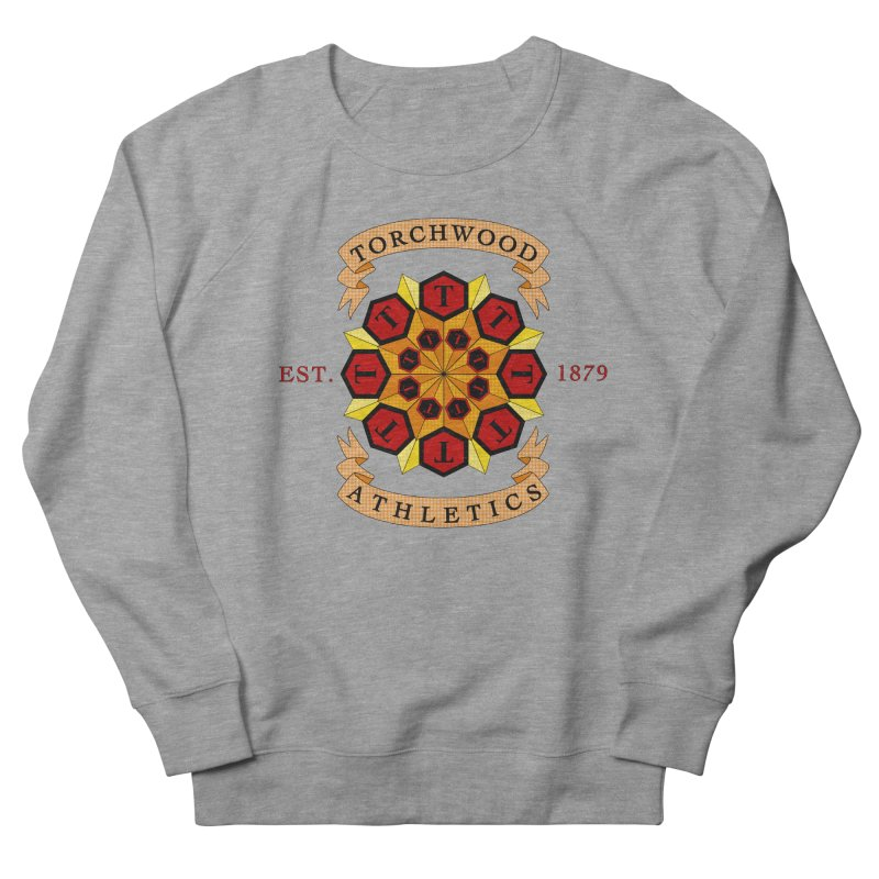 Torchwood Athletics Women's Sweatshirt by Magickal Vision: The Art of Jolie E. Bonnette